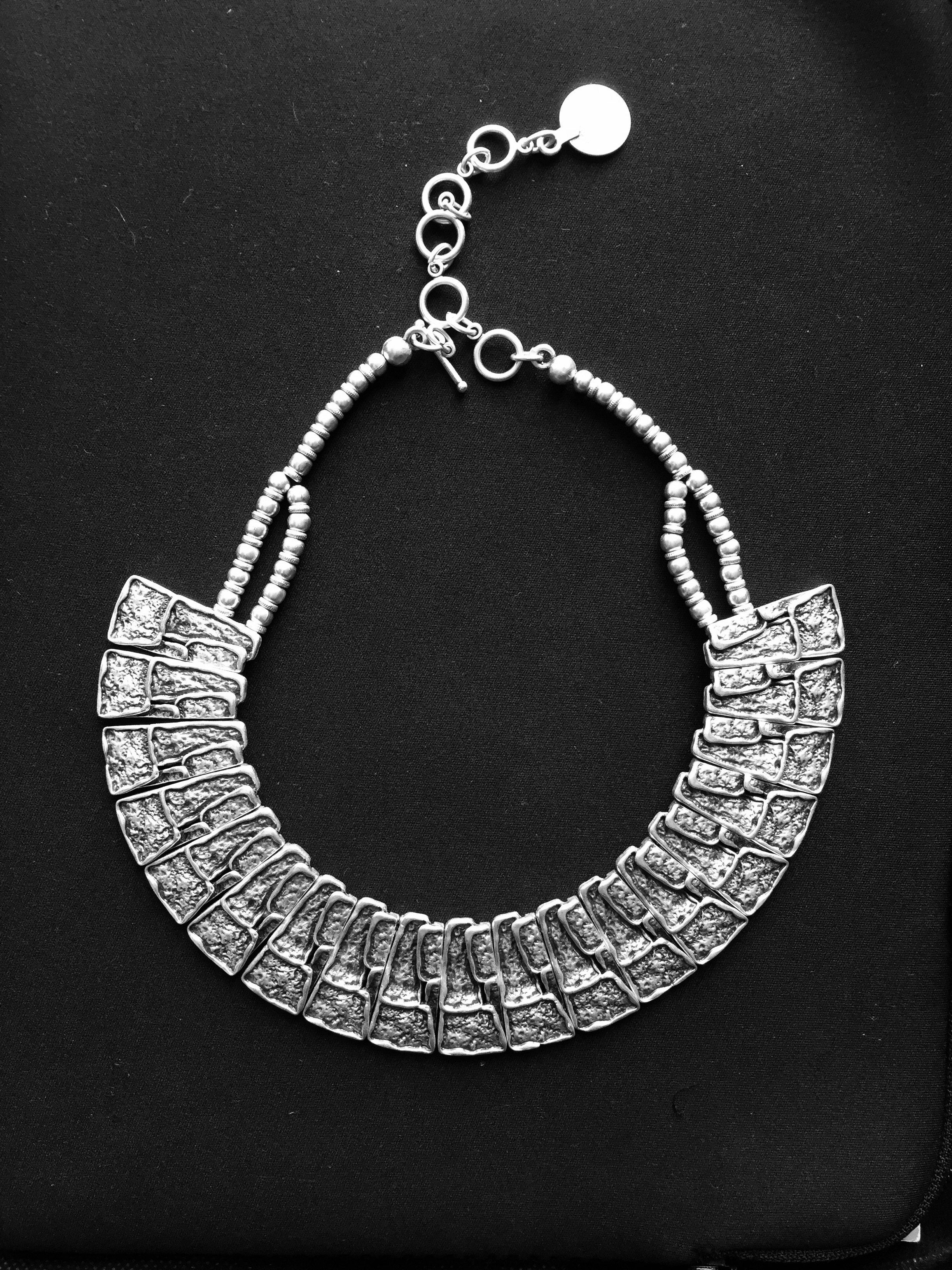 Necklace 1520 - Silver Plated