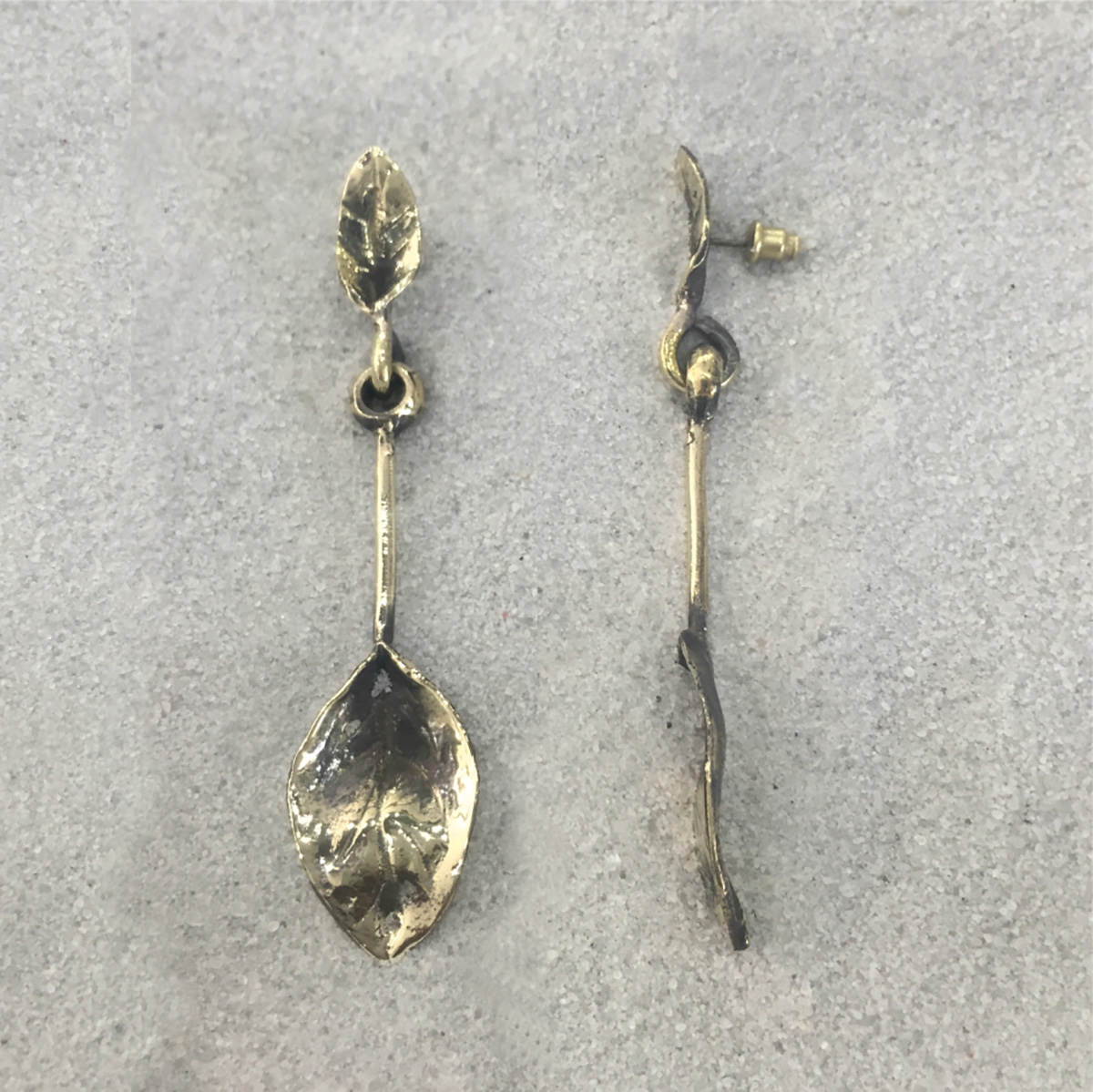 BRONZE EARRINGS 4012