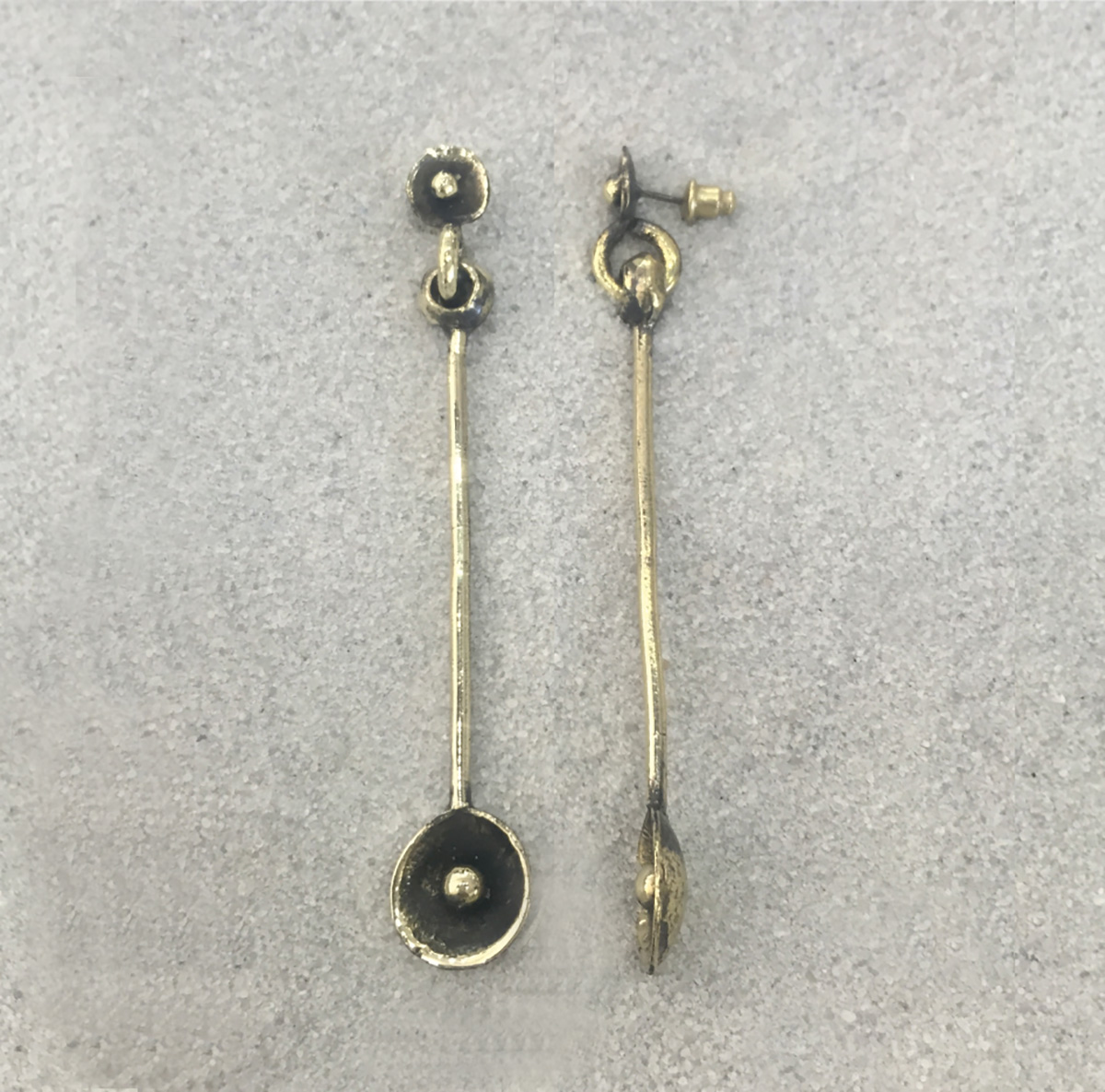 BRONZE EARRINGS 4014