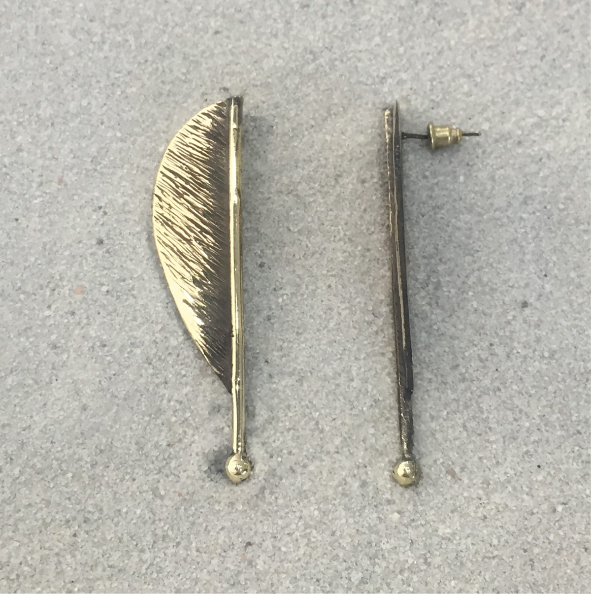 BRONZE EARRINGS 4020