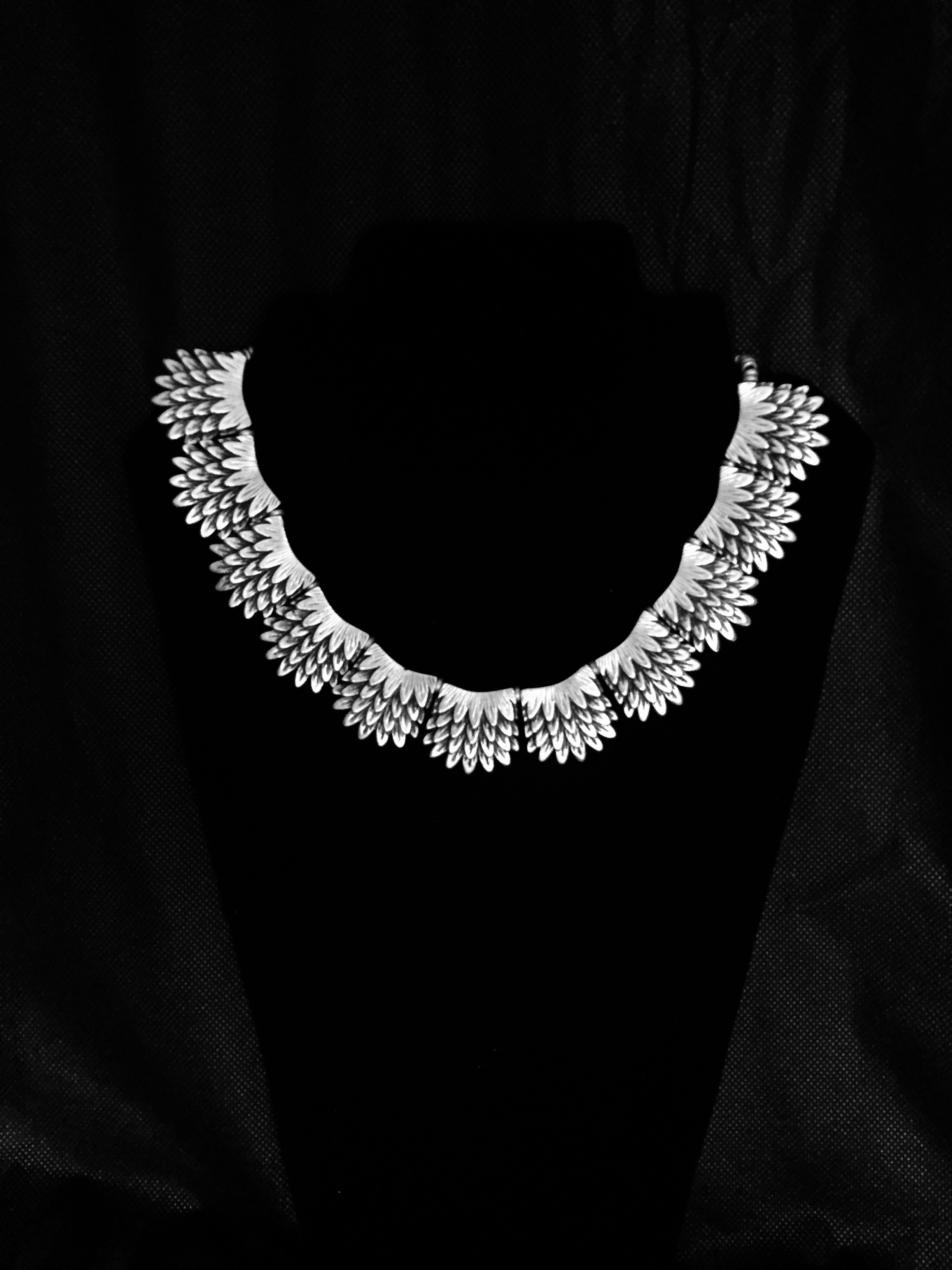 Necklace 1526 - Silver Plated
