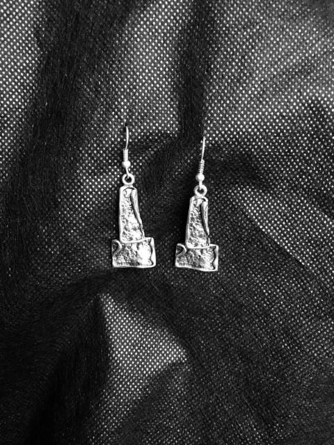 Slvr Plated Earring G4083