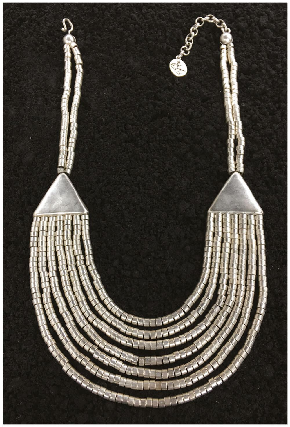 SILVER PLATED NECKLACE G1001