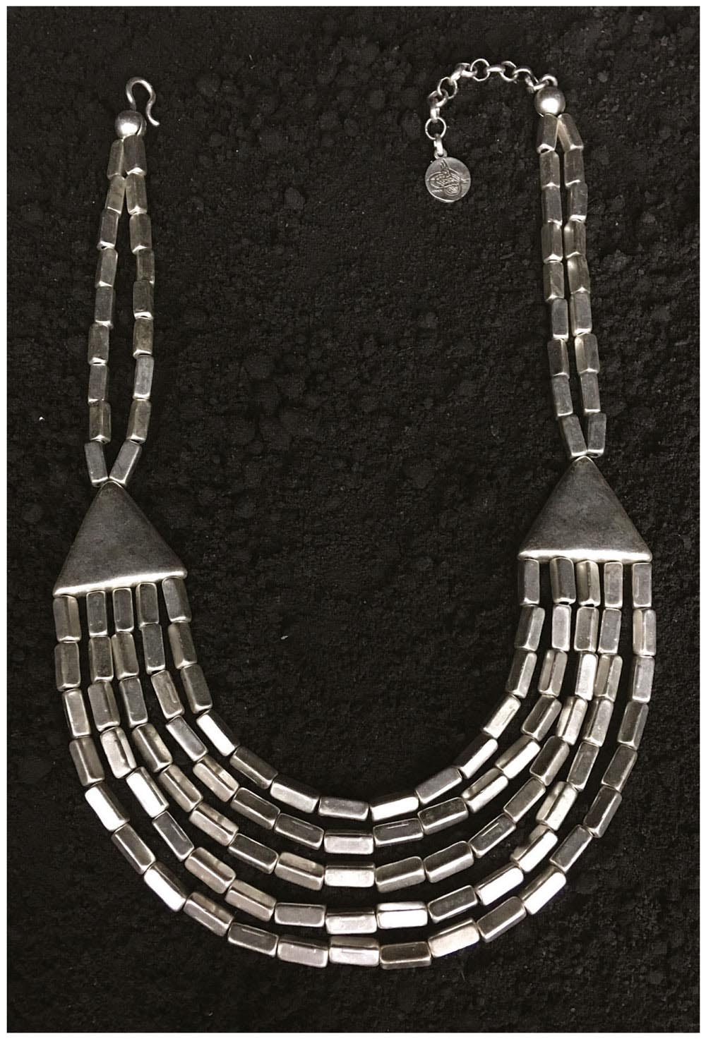 SILVER PLATED NECKLACE G1022