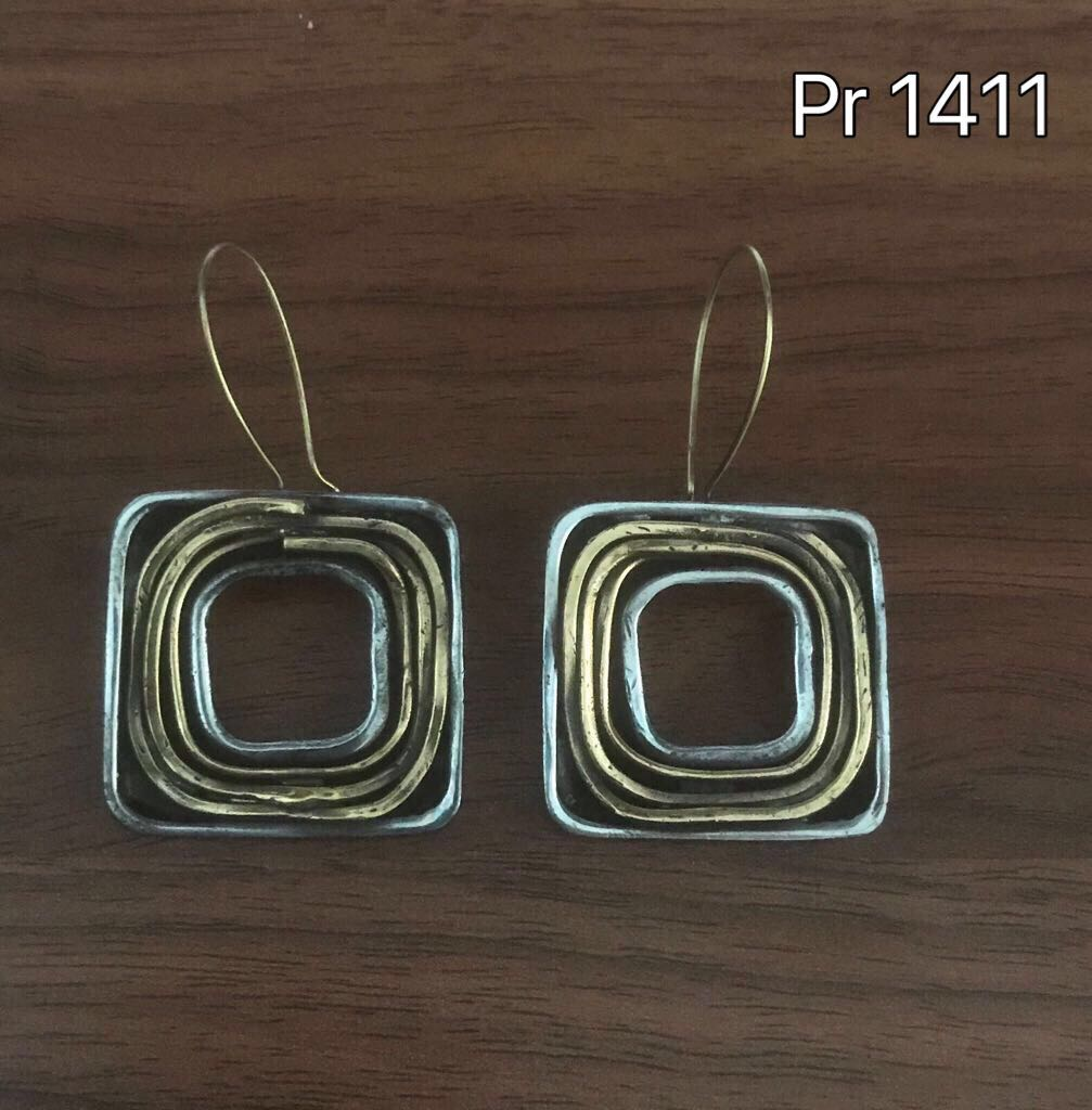 AFFORDABLE BRONZE EARRINGS PR1411