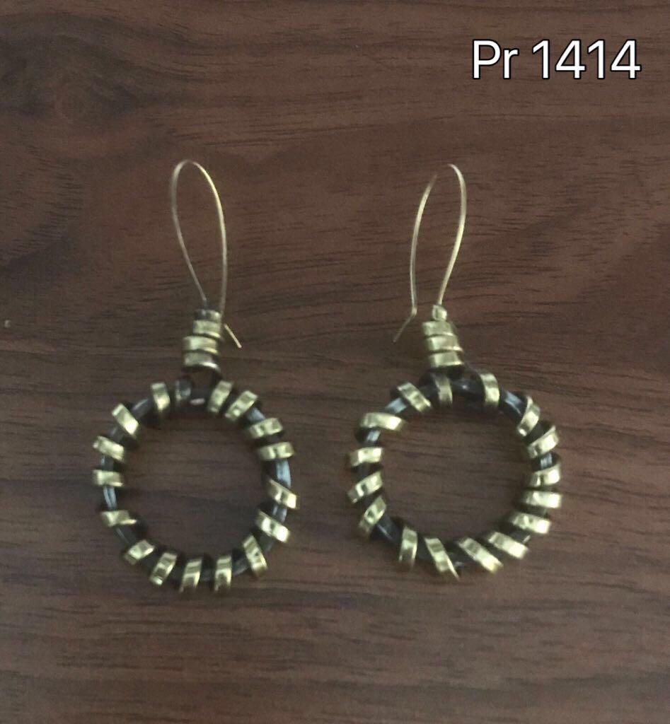 AFFORDABLE BRONZE EARRINGS PR1414