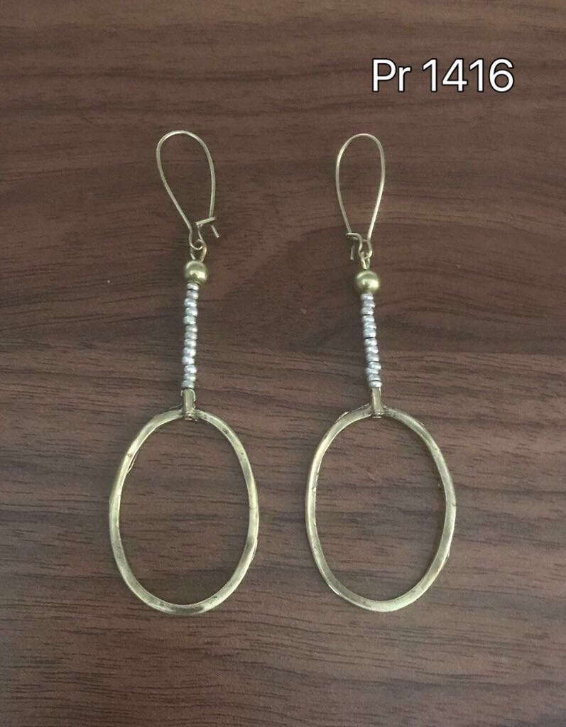 AFFORDABLE BRONZE EARRINGS PR1416