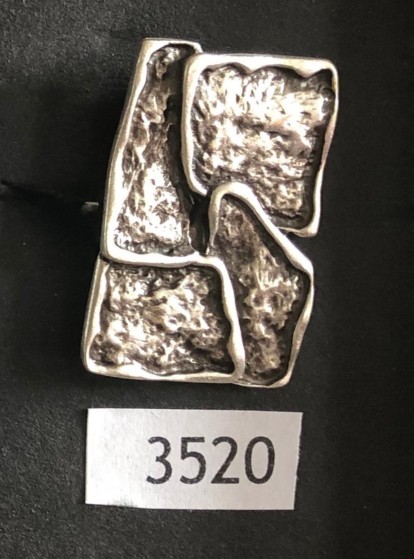 Ring 3520 - Slvr Plated