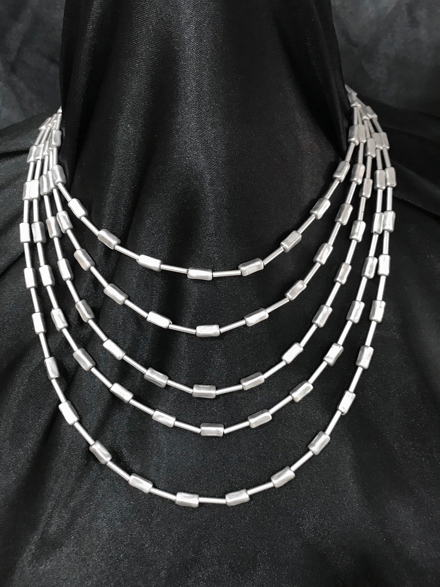 NECKLACE 1533 - SILVER PLATED