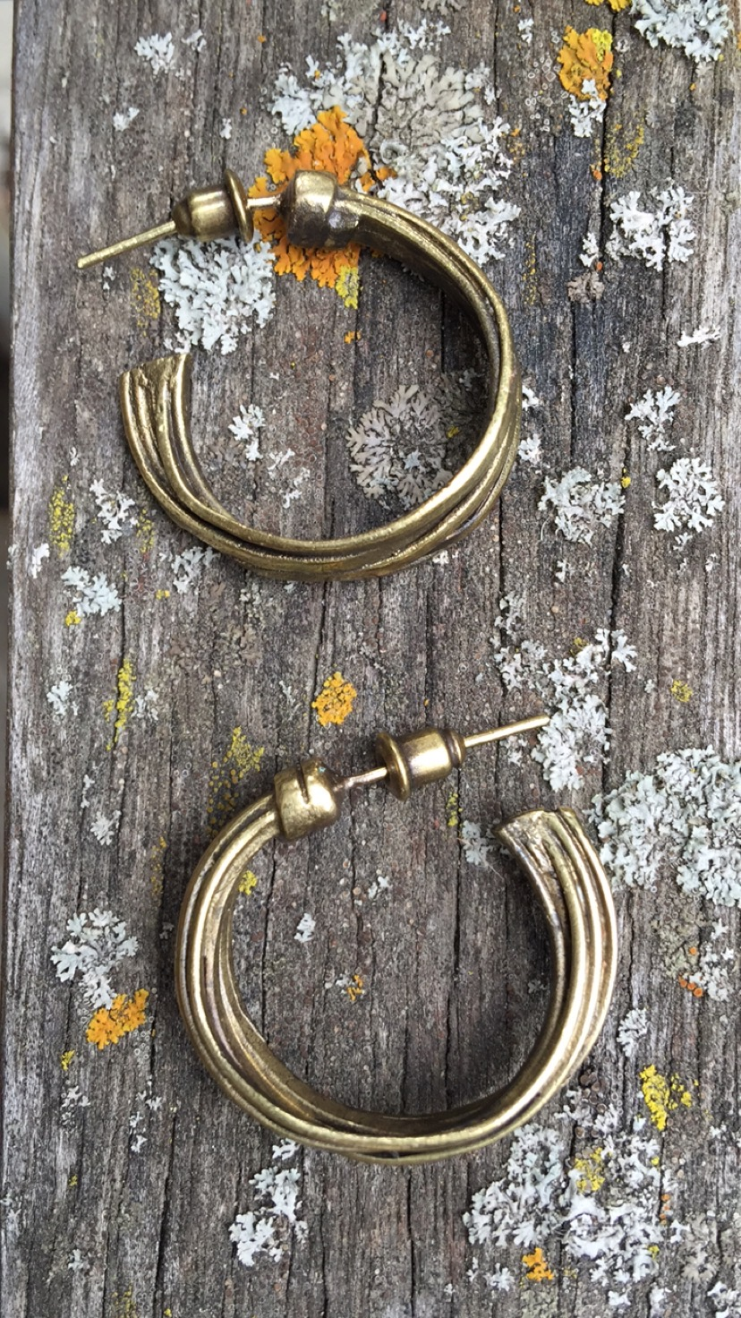 AFFORDABLE BRONZE EARRINGS PR1406